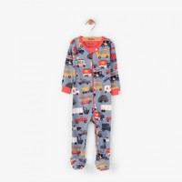 HATLEY RUSH HOUR  MINI FOOTED COVERALL