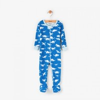 HATLEY DINOSAUR MENAGERIE MINI FOOTED COVERALL