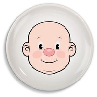 MR FOOD FACE DINNER PLATE