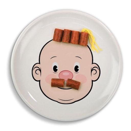 MR FOOD FACE DINNER PLATE  sc 1 st  BellaBoo A childrenu0027s boutique & MR FOOD FACE DINNER PLATE - BellaBoo
