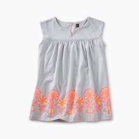TEA GRAPHIC EMPIRE BABY DRESS
