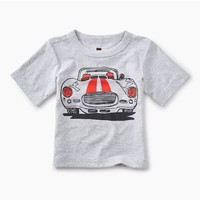 TEA MUSCLE CAR GRAPHIC BABY TEE