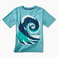TEA CRASHING WAVE GRAPHIC TEE