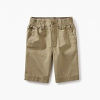 TEA CANVAS TRAVEL SHORTS