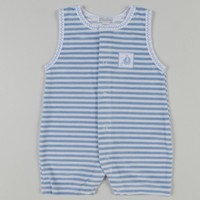 KISSY KISSY KISSY KISSY GONE SAILING TERRY STRIPE PLAYSUIT
