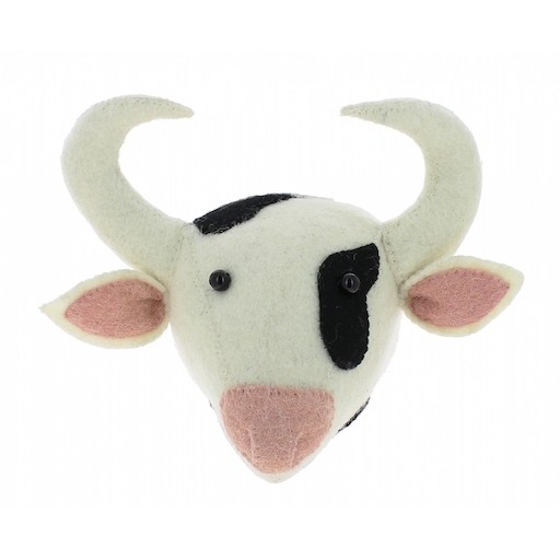 FIONA WALKER FIONA WALKER ENGLAND MINI COW HEAD MOUNT