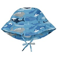 IPLAY INC BUCKET SUN PROTECTION HAT-BLUE WHALE LEAGUE