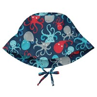 IPLAY INC BUCKET SUN PROTECTION HAT-NAVY OCTOPUS