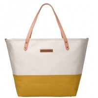 PETUNIA PICKLE BOTTOM PETUNIA PICKLE BOTTOM DOWNTOWN TOTE IN BIRCH/CARAMEL