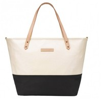 PETUNIA PICKLE BOTTOM PETUNIA PICKLE BOTTOM DOWNTOWN TOTE IN BIRCH/BLACK
