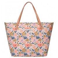 PETUNIA PICKLE BOTTOM PETUNIA PICKLE BOTTOM DOWNTOWN TOTE IN WILDFLOWERS OF WESTBURY