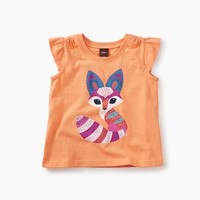 TEA DESERT  FOX GRAPHIC BABY TEE