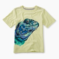 TEA LIZARD GRAPHIC TEE