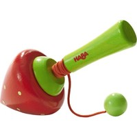 HABA SPINNING TOP SWIRLING STRAWBERRY