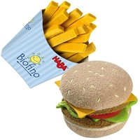 HABA HAMBURGER WITH FRENCH FRIES BIOFINO