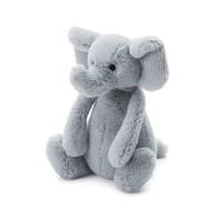 "JELLYCAT INC BASHFUL SMALL GREY ELEPHANT 7"""