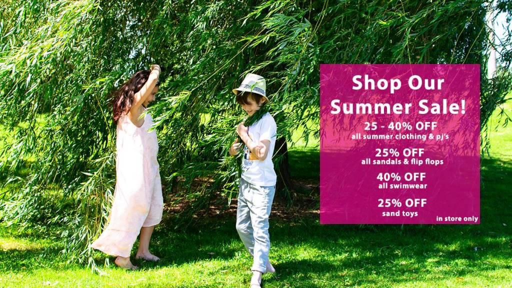 Shop Our Summer Sale!