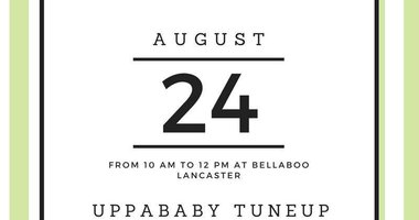 UPPAbaby Tuneup Coming Soon!
