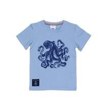 TOOBYDOO BLUE OCTOPUS TEE