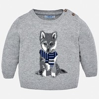 MAYORAL USA WOLF SWEATER