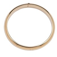 CHERISHED MOMENTS, LLC 14K GOLD-PLATED BANGLE BRACELET