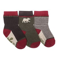 ROBEEZ FOREST DWELLER 3PK SOCKS