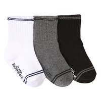 ROBEEZ GOES WITH EVERYTHING SOCKS, 3 PACK
