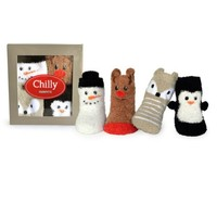 TRUMPETTE CHILLY SOCKS, 4 PACK