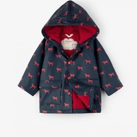 HATLEY RED LABS BABY RAINCOAT