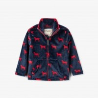 HATLEY RED LABS FUZZY FLEECE ZIP UP