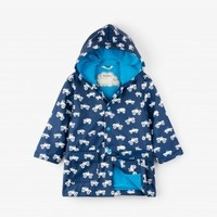 HATLEY COLOR CHANGING MONSTER TRUCKS RAINCOAT