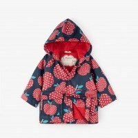 HATLEY POLKA DOT APPLES BABY RAINCOAT