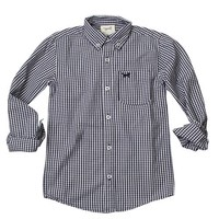 JACK THOMAS GINGHAM LONG SLEEVE SHIRT