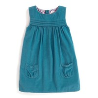 JOJO MAMAN BEBE CORD PINAFORE DRESS