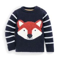 JOJO MAMAN BEBE FOX SWEATER