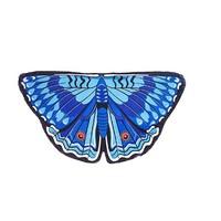DOUGLAS CO. DREAMY DRESS UP ROYAL BLUE PANSY BUTTERFLY WINGS