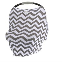 ITZY RITZY MOM BOSS 4-IN-1 MULTI-USE NURSING COVER, CAR SEAT COVER, SHOPPING CART COVER AND INFINITY SCARF