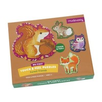 GALISON MUDPUPPY FOREST FRIENDS MY FIRST TOUCH AND FEEL PUZZLE