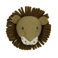FIONA WALKER FIONA WALKER ENGLAND MINI LION HEAD WALL MOUNT