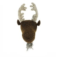 FIONA WALKER FIONA WALKER ENGLAND MINI MOOSE HEAD MOUNT
