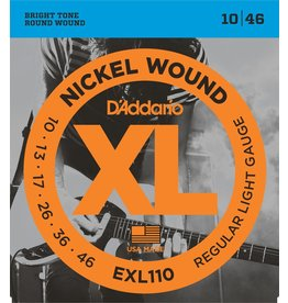 D'Addario - XL Nickel Wound, 10-46 Regular Light