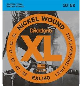 D'Addario - XL Nickel Wound, 10-52