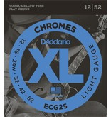 D'Addario - Flat Wound Chromes, 12-52 Light