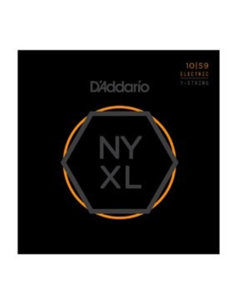 D'Addario - NYXL 10/59 7-String Regular Light