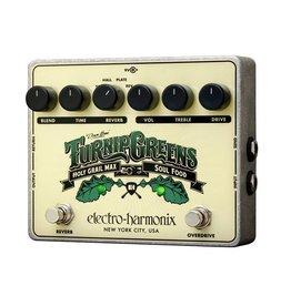Electro-Harmonix - Turnip Greens Overdrive/Reverb Pedal