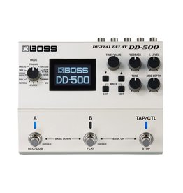 Boss - Digital Delay Pedal