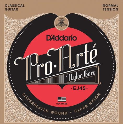 D'Addario - Pro Arte Classical Strings, Normal Tension Nylon