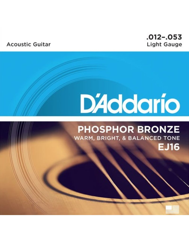 D'Addario - Phosphor Bronze, 12-53 Light