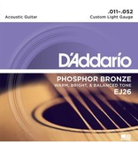D'Addario - Phosphor Bronze, 11-52 Custom Light