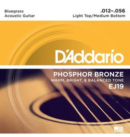 D'Addario - Phosphor Bronze, 12-56 Bluegrass